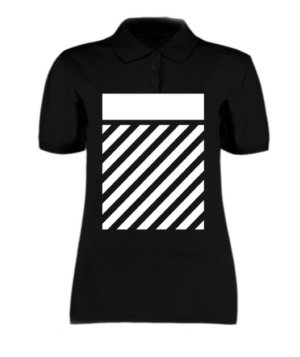 hip hop, Women's Polo Neck T-shirt