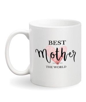 best mother in the world, White Mug