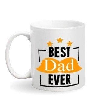 best dad ever, White Mug