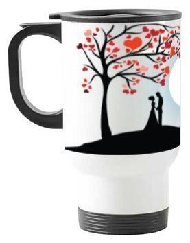 couple love, Travelling Mug
