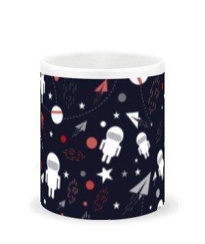 astronaut, White Mug
