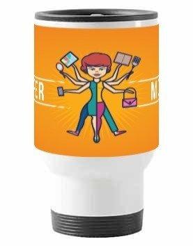 Super Mom Mugs and Bottles, Travelling Mug