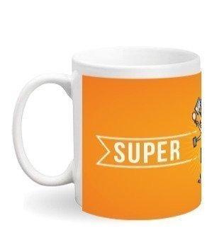 Super Mom Mugs and Bottles, White Mug