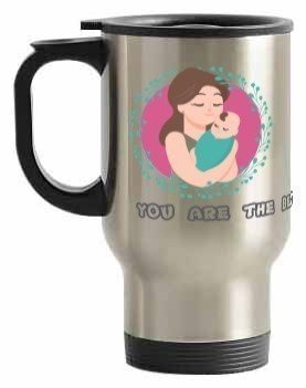 You are the best Mom ever, Steel Travelling Mug