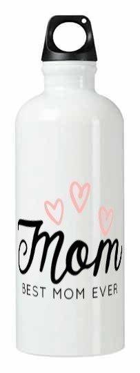 best mom ever, White Bottle
