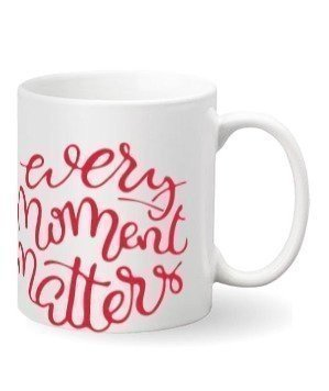 Every Moment Matters. Mug and Bottle