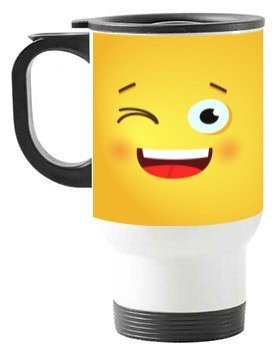 Never forget your smile, Travelling Mug