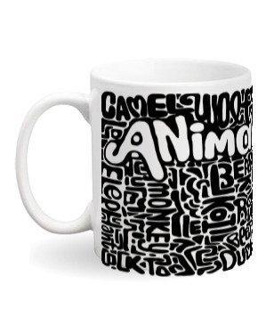 Animals Design Pattern Mugs and Bottles, Steel Travelling Mug