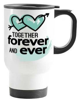 Love you more than coffee, Steel Travelling Mug