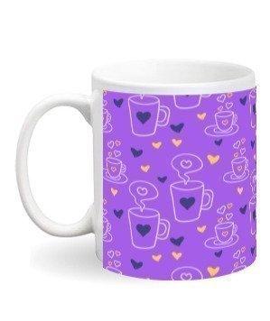 Heart Coffee Pattern