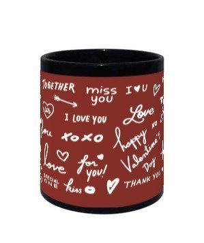 Be my Love Mug, Black Mug