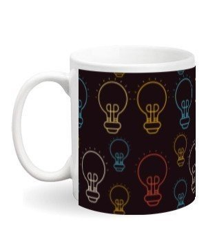 Creative Light Bulb, Steel Travelling Mug
