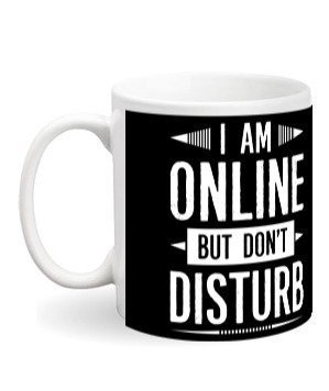 I am online mugs and bottles