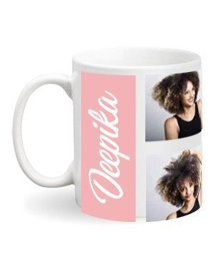 Personalized Name Mug, White Mug