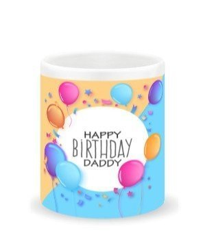 Happy birthday Daddy-mug