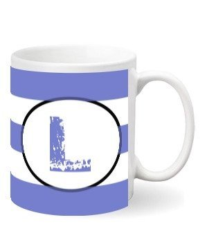 Monogram mug – L