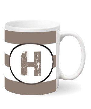 Monogram mug – H