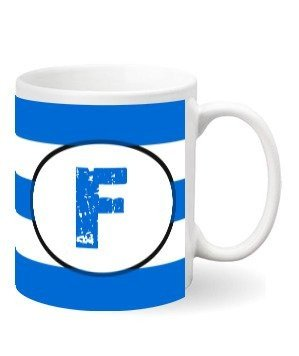 Monogram mug – F