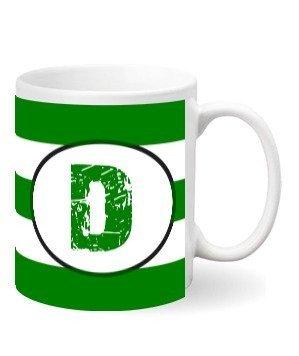 Monogram mug – D