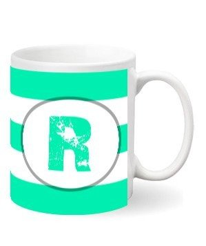 Monogram mug – R
