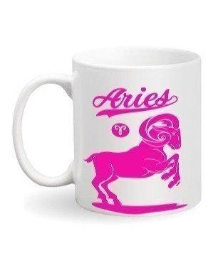 Aries Sign, White Mug
