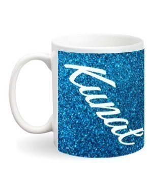Print name on coffee mug, White Mug