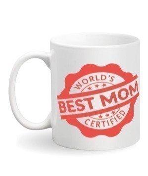 World's best mom, White Mug
