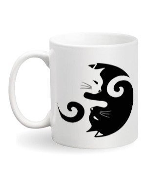 Beautiful cat mug