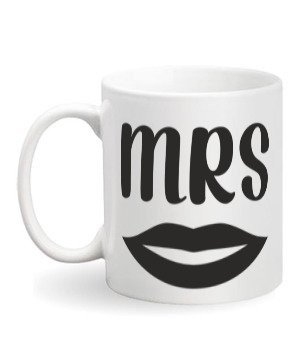 Mrs, White Mug