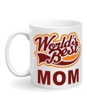World's best mom mug, White Mug