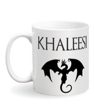 Khaleesi Mug, White Mug