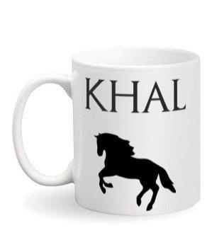 Khal Mug, White Mug