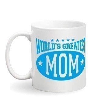 World's Greatest Mom, White Mug