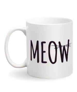 MEOW, White Mug