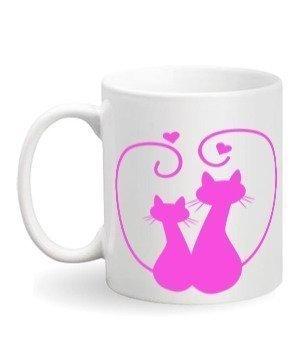 Love Cats, White Mug