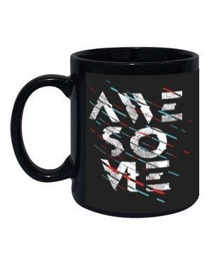 Awesome mug, Black Mug
