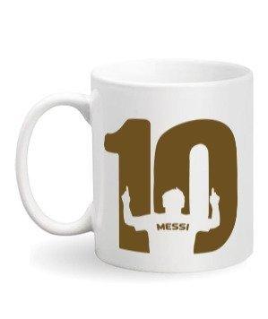 Messi mug, White Mug