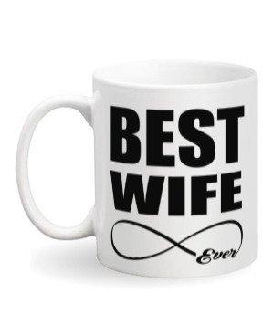 Best Wife Ever, White Mug