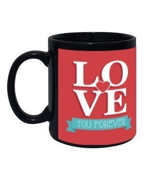 Couple Personalized mug, Black Mug