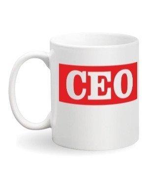 CEO mug, White Mug