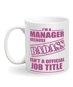 I am a manager