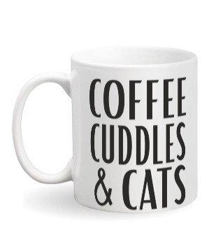 Coffee cuddles & cats