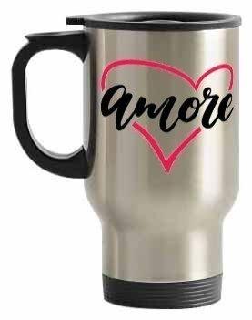 Amore, Steel Travelling Mug