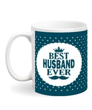 Best Husband Personalized Mug, White Mug
