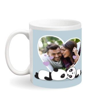 Personalized Photo Mug, White Mug