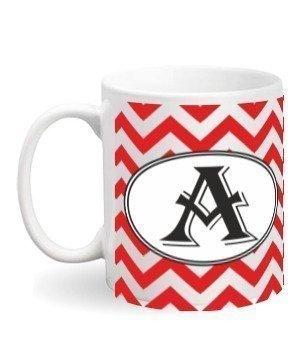 Alphabet-A Mug, White Mug