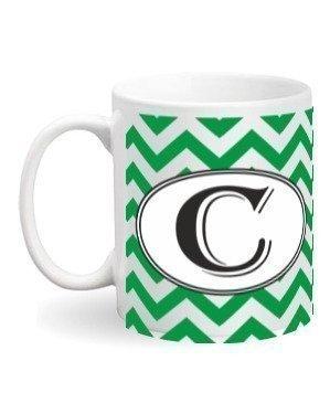Alphabet- C Mug, White Mug