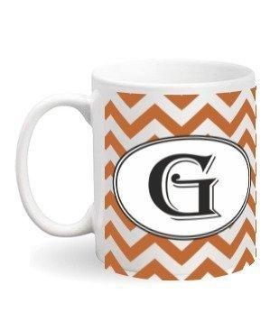 Alphabet-G Mug, White Mug