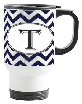 Alphabet -T Mug, Travelling Mug