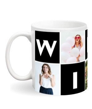 WIFEY customise mug, White Mug